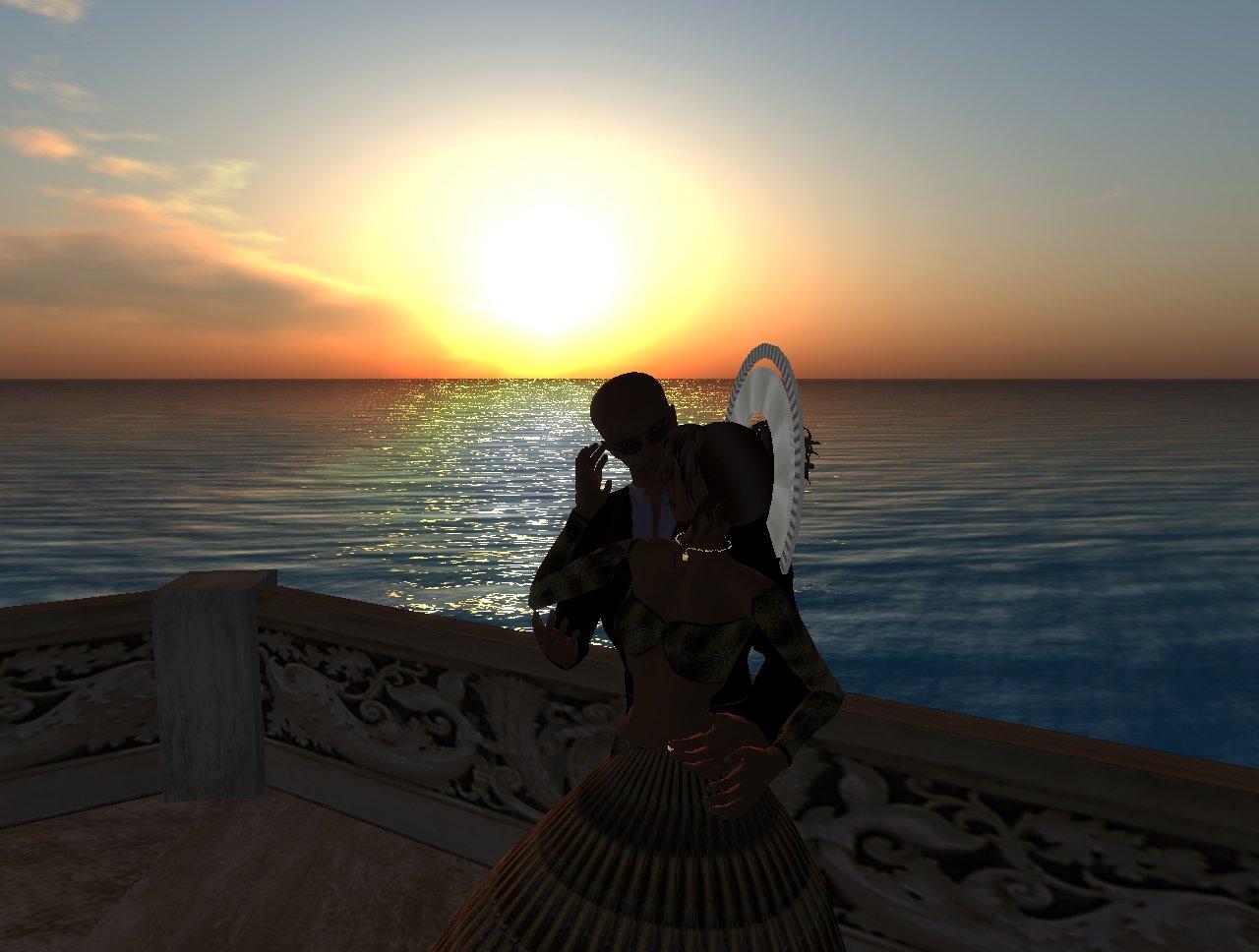 sc ne romantique au coucher du soleil joy isle 03 01 2008. Black Bedroom Furniture Sets. Home Design Ideas